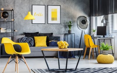 How I Styled My Small Living Area to Look Bigger